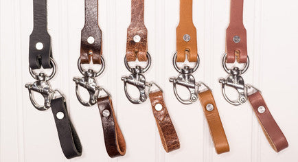 Leather Safety Lanyard