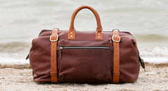Roamographer | An American Bison Leather Duffle Bag