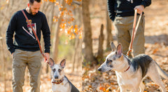 The Ranger Dog Leash | Hands Free Leather Leash For Your Pet