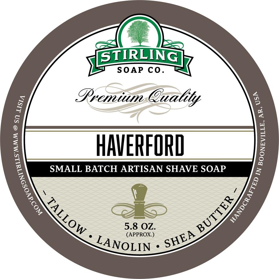 Stirling - Jabón de Afeitar de Primera - Haverford