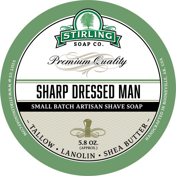 Stirling - Jabón de Afeitar de Primera - Sharp Dressed Man