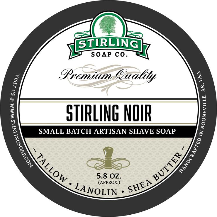 Stirling - Jabón de Afeitar de Primera - Stirling Noir