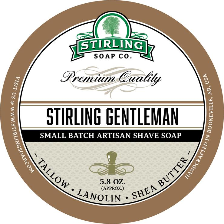 Stirling - Jabón de Afeitar de Primera - Stirling Gentleman