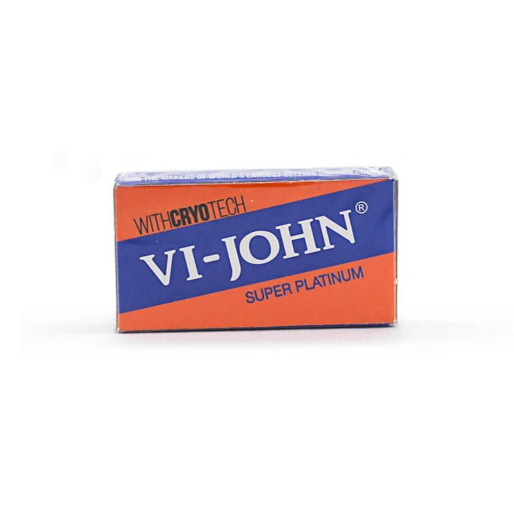 Vi-John Super Platinum Coated Stainless Cuchillas de Afeitar (5)