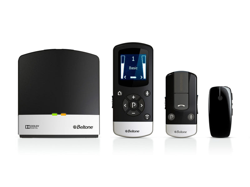 Beltone Total Solution Bundle (TV Link 2+ Phone Link 2 + MyPAL Pro + Remote Control 2)