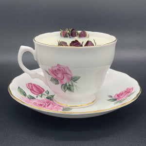 Blooming Rose Teacup