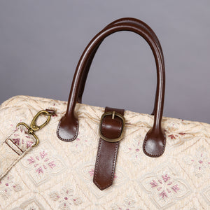 Mary Poppins Carpet Bag<br>Ethnic Cream