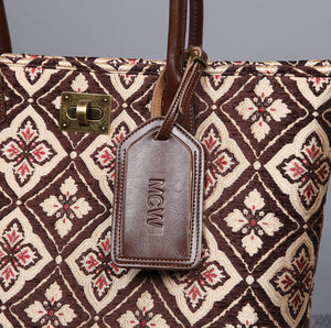 Carpet Tote<br>Ethnic Coffee