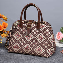 Load image into Gallery viewer, Carpet Purse<br>Ethnic Coffee