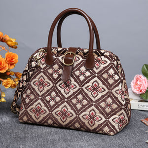 Carpet Purse<br>Ethnic Coffee