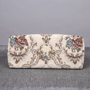 Mary Poppins Carpet Bag<br>Floral Cream