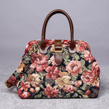 Load image into Gallery viewer, Carpet Purse<br>Floral Rose