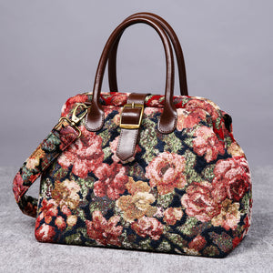 Carpet Purse<br>Floral Rose