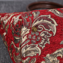 Load image into Gallery viewer, Carpet Tote<br>Victorian Blossom Red/Gold