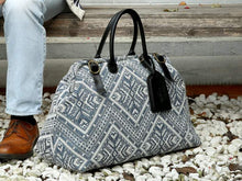 Load image into Gallery viewer, Men's Carpet Bag<br>Aztec Off-White