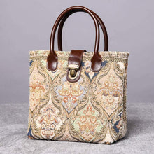 Load image into Gallery viewer, Mini Carpet Tote<br>Golden Age Beige