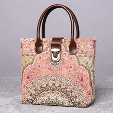 Load image into Gallery viewer, Mini Carpet Tote<br>Oriental Pink