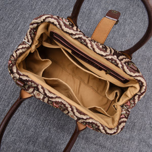 Carpet Purse<br>Traditional Coffee