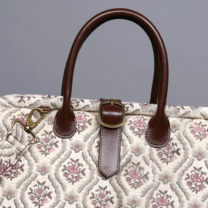 Mary Poppins Carpet Bag<br>Traditional Cream