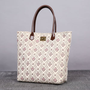 Carpet Tote<br>Traditional Cream