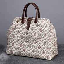 Load image into Gallery viewer, Mary Poppins Carpet Bag<br>Traditional Cream