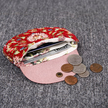 Load image into Gallery viewer, Minimalist Style Leather Carpet Coin Purse<br>Oriental Colors