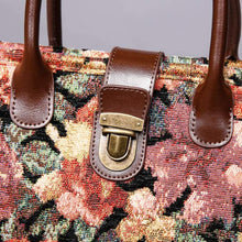 Load image into Gallery viewer, Mini Carpet Tote<br>Floral Rose