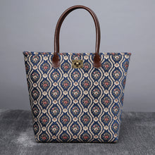 Load image into Gallery viewer, Carpet Tote<br>Traditional Blue