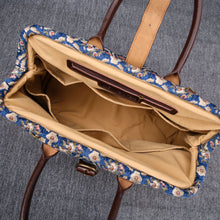 Load image into Gallery viewer, Mary Poppins Carpet Bag<br>Traditional Blue