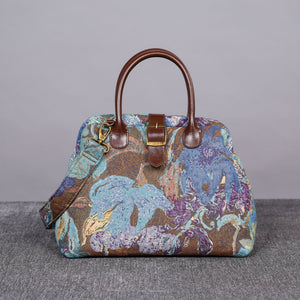 Carpet Purse<br>Abstract Blue