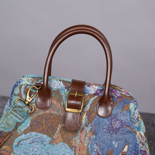 Load image into Gallery viewer, Carpet Purse<br>Abstract Blue