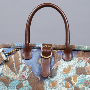 Mary Poppins Carpet Bag<br>Abstract Blue