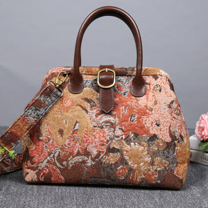 Carpet Purse<br>Abstract Brown