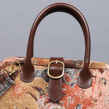 Load image into Gallery viewer, Carpet Purse<br>Abstract Brown