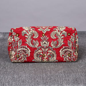 Carpet Purse<br>Victorian Blossom Red/Gold