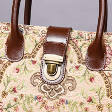 Load image into Gallery viewer, Mini Carpet Tote<br>Oriental Beige