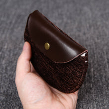 Load image into Gallery viewer, Minimalist Style Leather Carpet Coin Purse<br>Solid Colors
