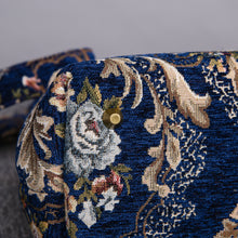 Load image into Gallery viewer, Carpet Purse<br>Floral Blue