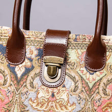 Load image into Gallery viewer, Mini Carpet Tote<br>Golden Age Pink