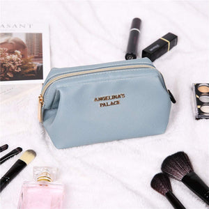 Makeup Bag<br>Pearl Blue