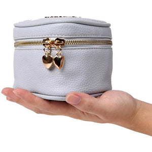 Heart Jewelry Case<br>Pearl Blue