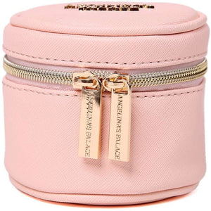 Round Jewelry Case<br>Soft Pink