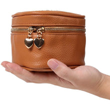 Load image into Gallery viewer, Heart Jewelry Case<br>Saddle