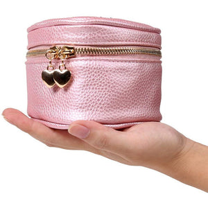 Heart Jewelry Case<br>Rose Pink