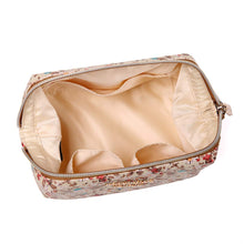 Load image into Gallery viewer, Makeup Bag<br>Blossom Tan
