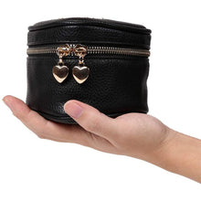 Load image into Gallery viewer, Heart Jewelry Case<br>Black