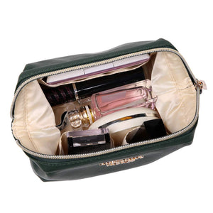 Makeup Bag<br>Deep Evergreen
