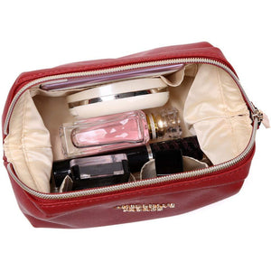Makeup Bag<br>Brandy