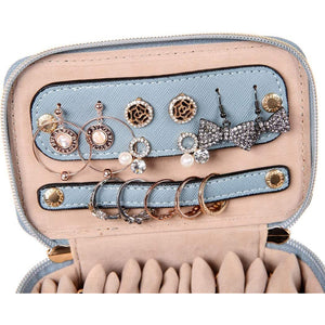 Jewelry Organizer Case<br>Pearl Blue
