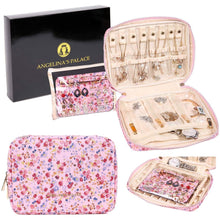 Load image into Gallery viewer, Jewelry Bag Large<br>Blossom Pink